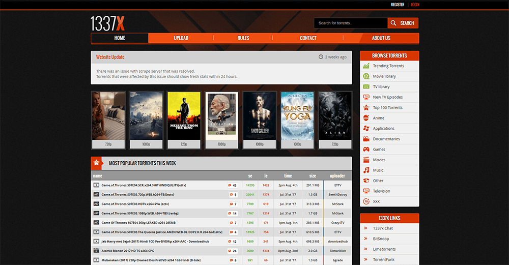 best torrent tracker december 2017